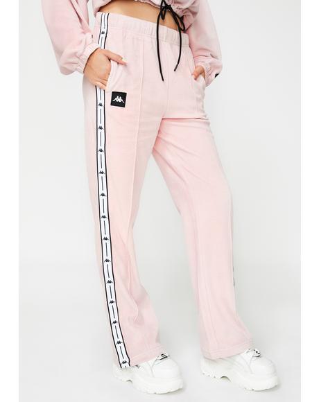 Authentic JPN Barav Velour Trousers