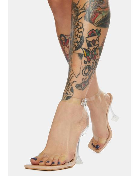 Yasmyn Clear Acrylic Heels
