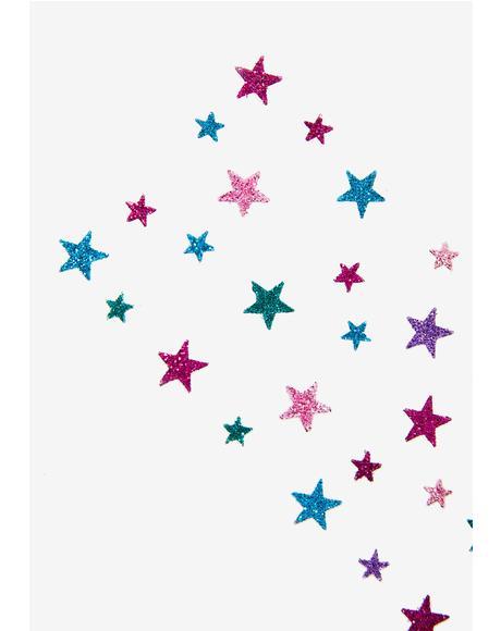 Pastel Star Sparkles