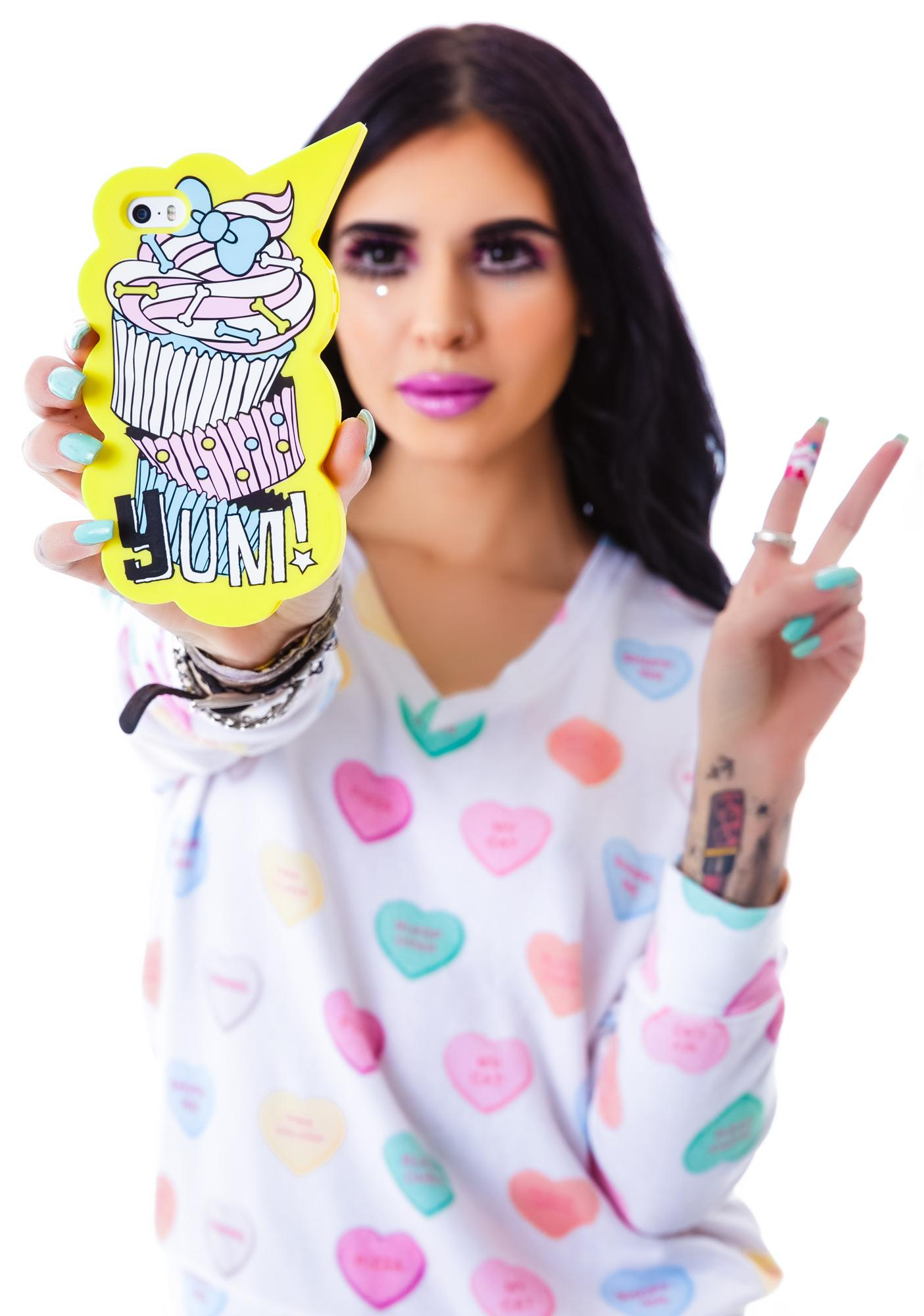 Candies x Hannah Beth Yum Yum Cupcake iPhone 5 Case