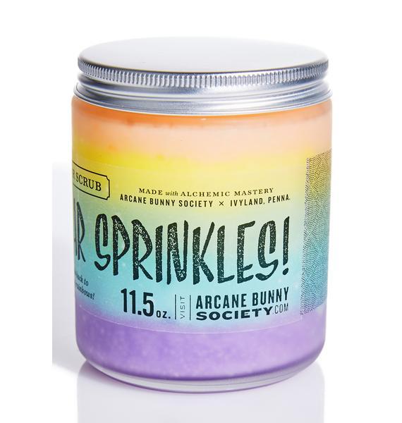 Arcane Bunny Society More Star Sprinkles Sugar Scrub