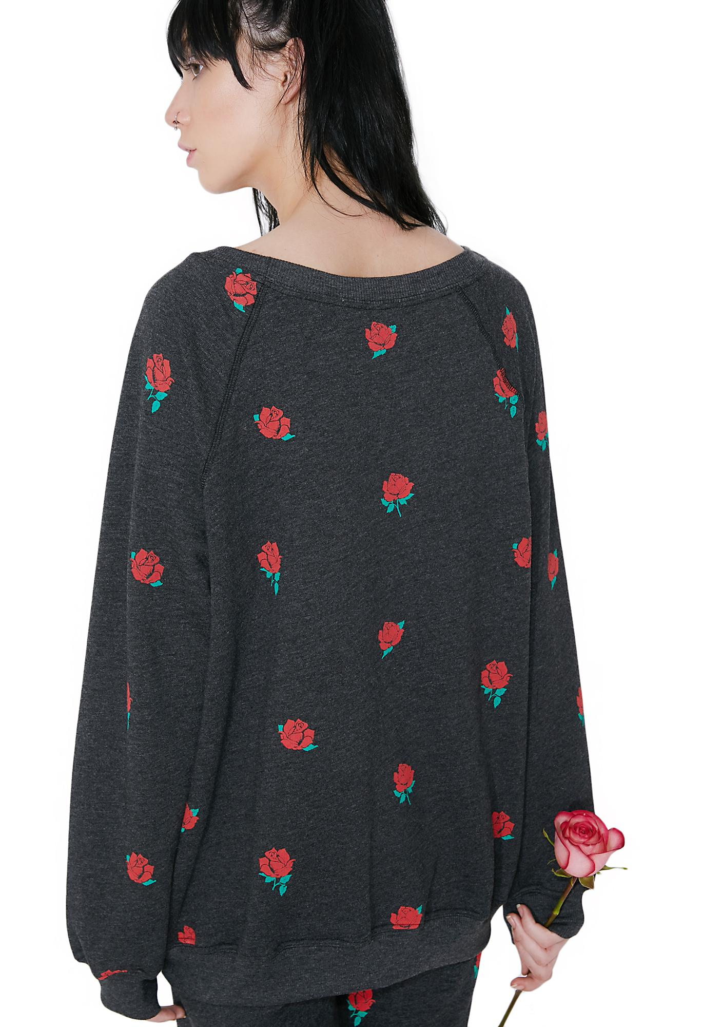 Wildfox Couture Garden Roses Sommers Sweater