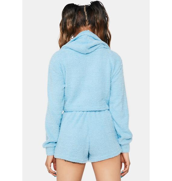 Sly Stares Hoodie Short Set