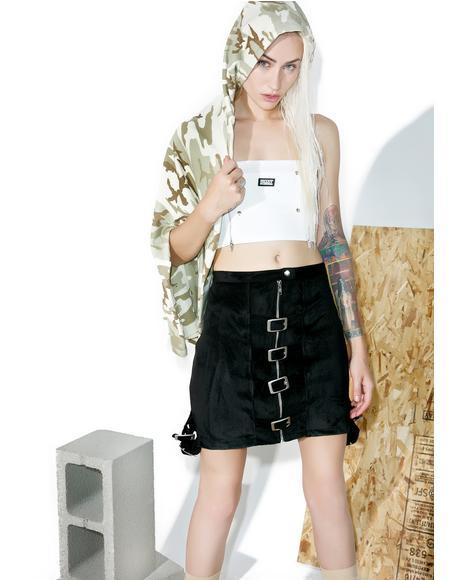 Lolly Pop Buckled Skirt