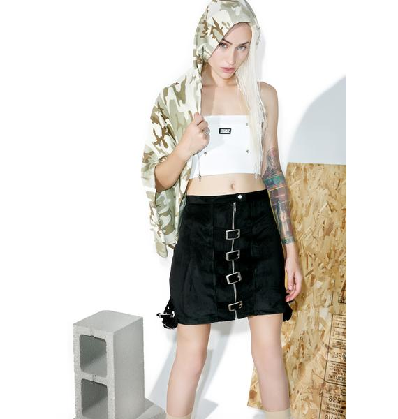 Hardware LDN Lolly Pop Buckled Skirt