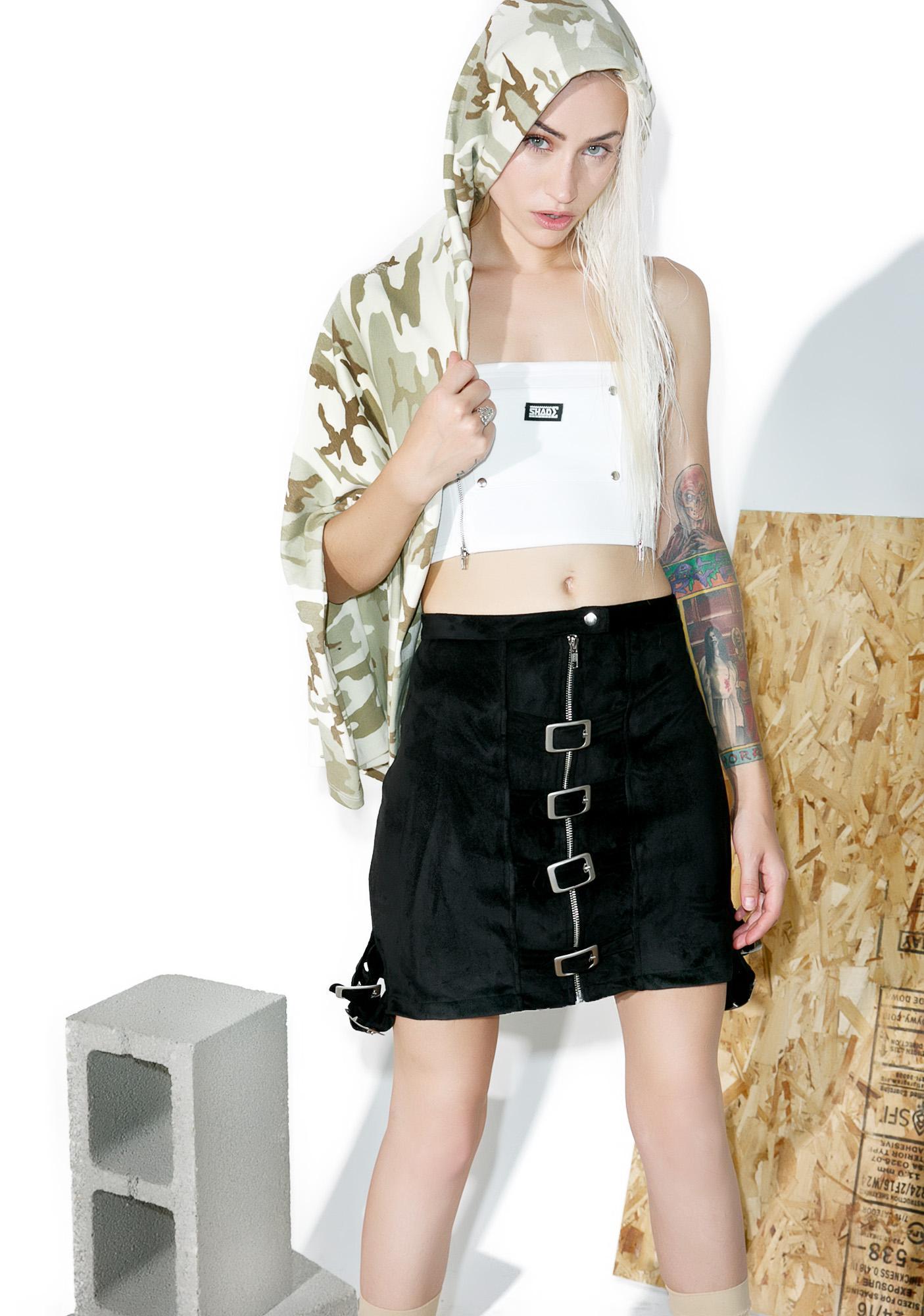 Hardware LDN Lolly Pop Buckled Skirt