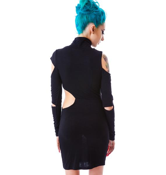 Show Off Cut Out Bodycon Dress