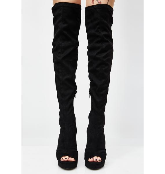 Alwayz Right Over The Knee Boots