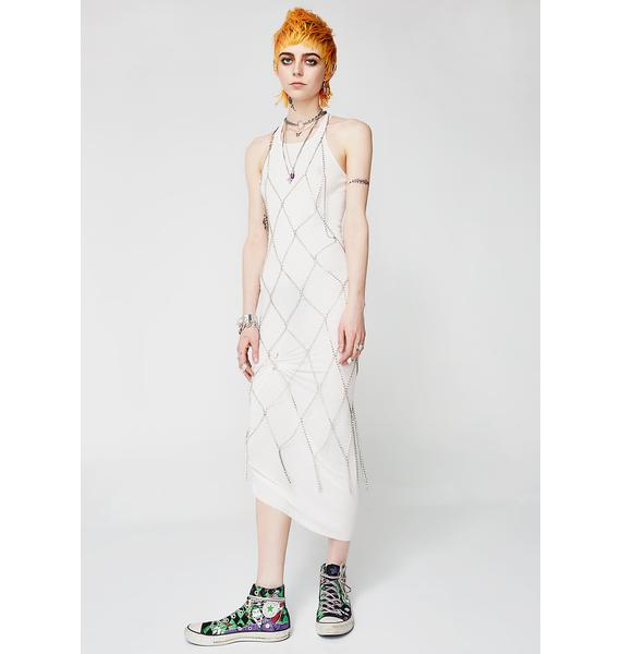 Kiki Riki Drippin' Lies Midi Dress