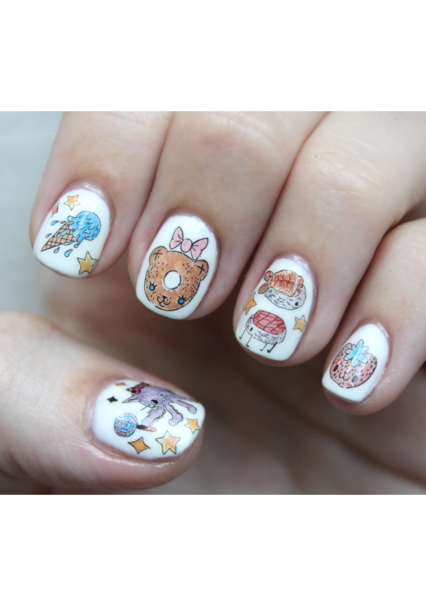 Nail Pop x Dolls Kill Space Treats Nail Decal