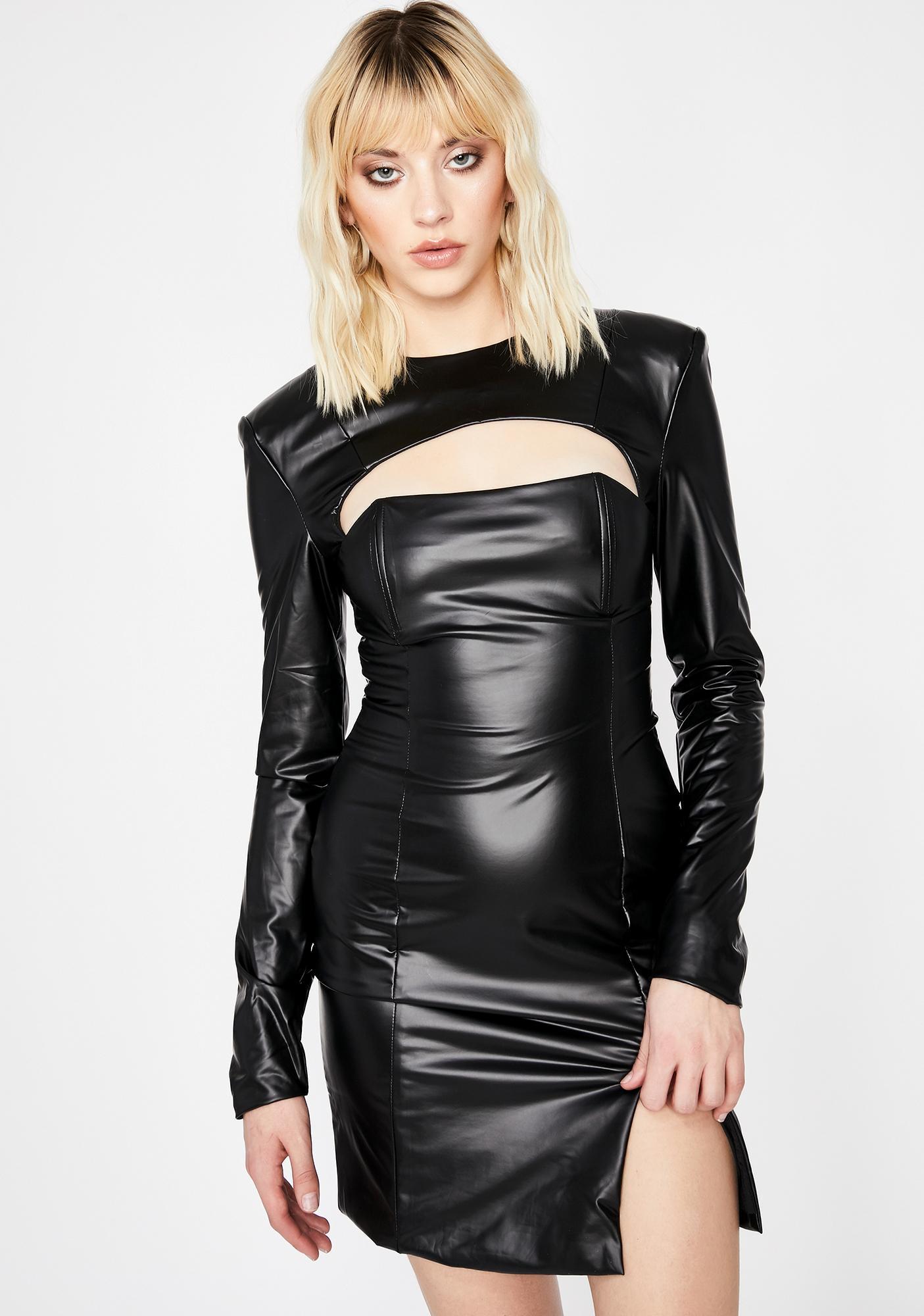 Shot Caller Cut-Out Dress