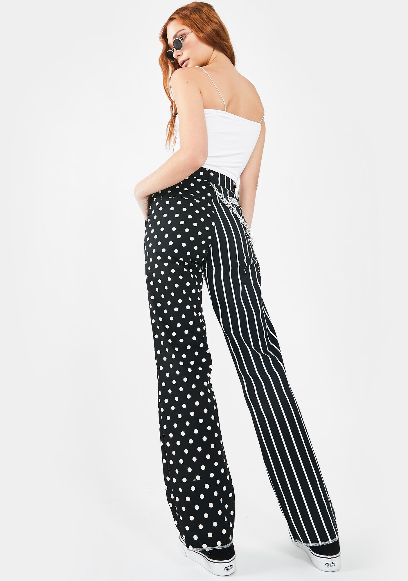 O Mighty Two Face Pant In Black