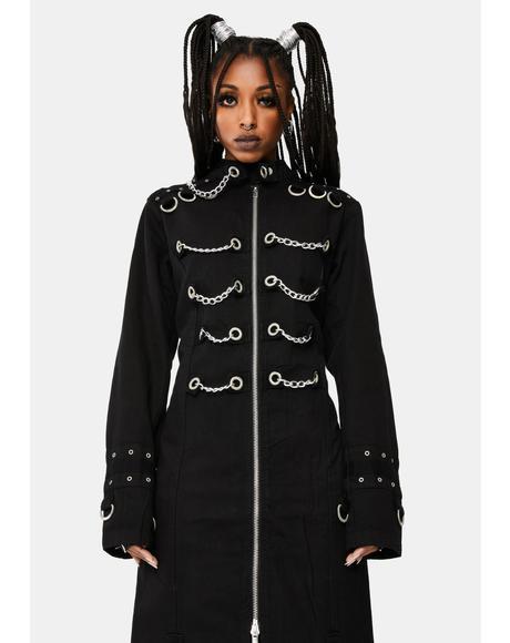 Chain Eyelet Coat