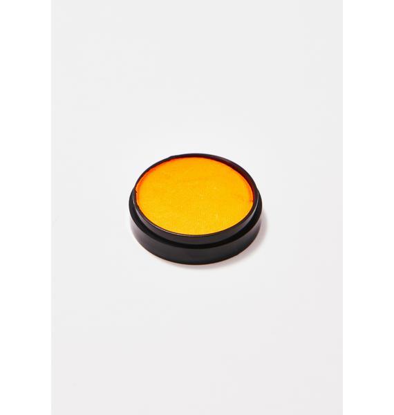 Go Get Glitter Tangerine Neon Face N' Body Paint Pot