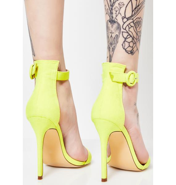 In My Neon Element Heels