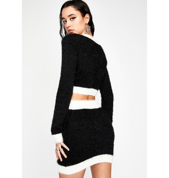 HOROSCOPEZ Independent Woman Fuzzy Skirt