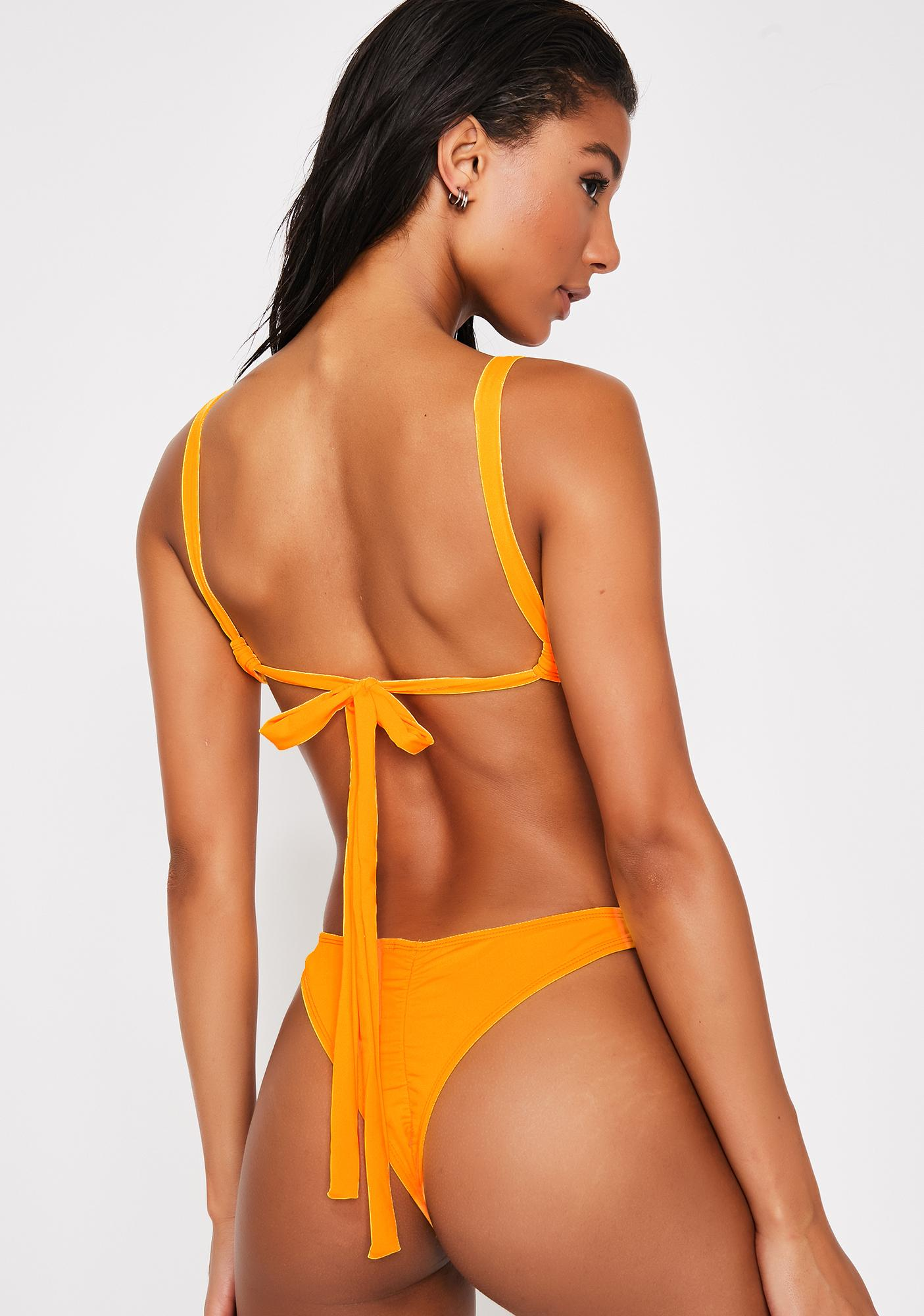 Mango Meet Your Match Bikini Set
