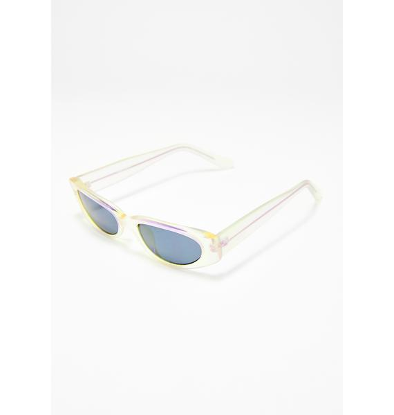 Replay Vintage Sunglasses Future Daydreamin' Iridescent Sunglasses