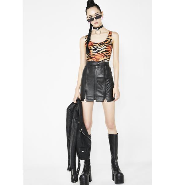 Werq It Mini Skirt