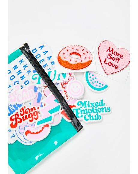 Express Yo Self Sticker Kit