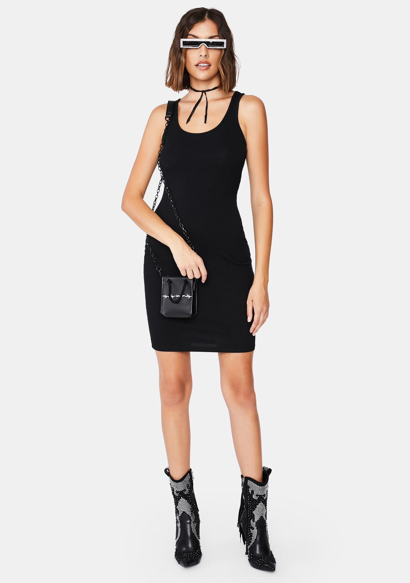 Test Your Patience Mini Dress