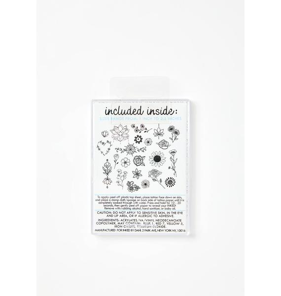 INKED by Dani Flower Child Tattoo Pack