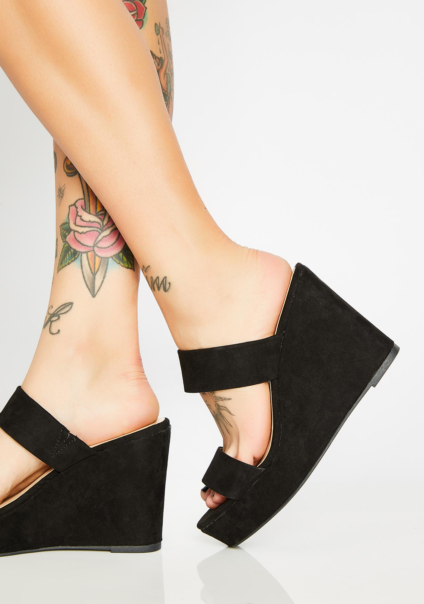 Too Chill Wedge Heels