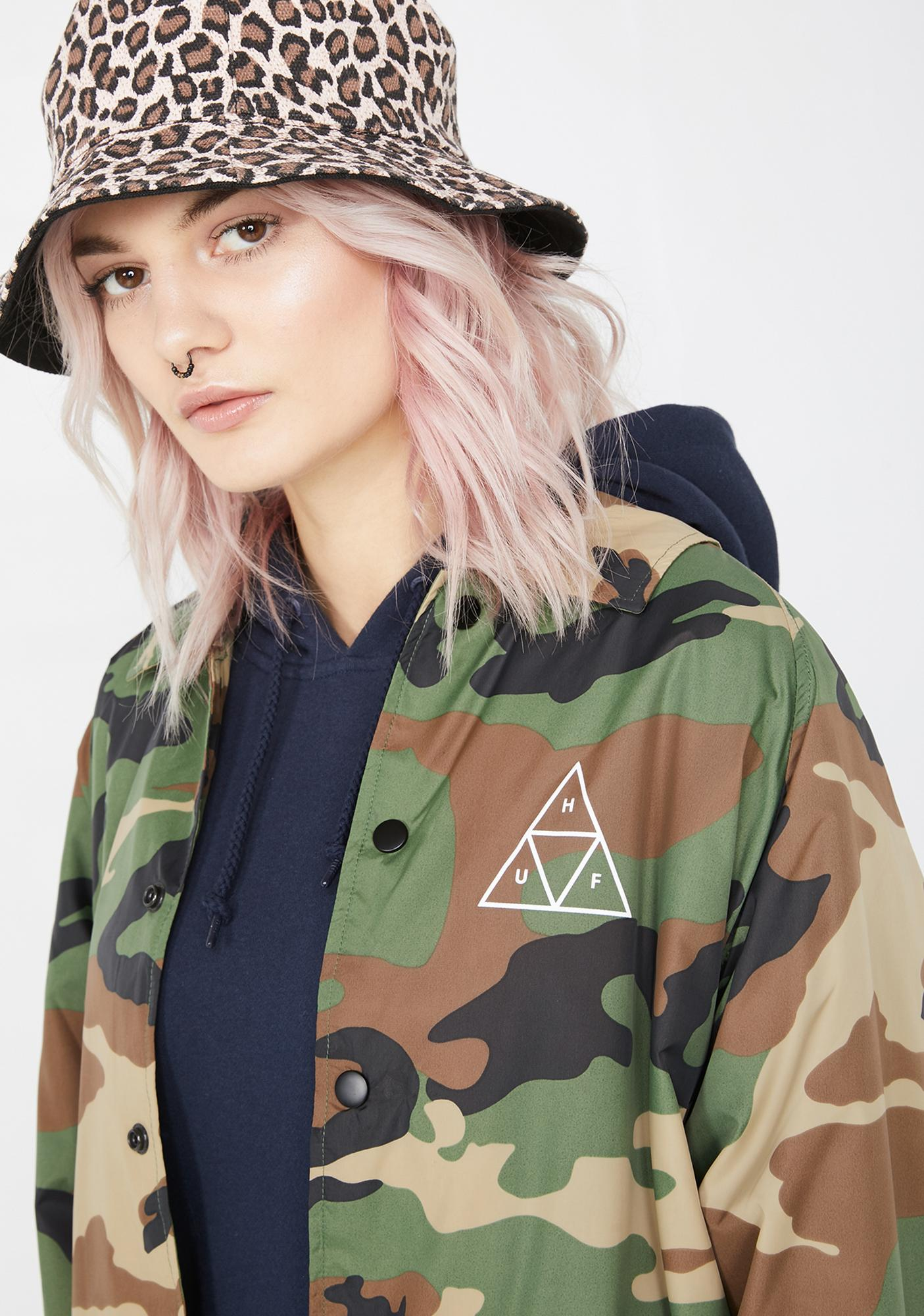 HUF Essentials TT Coaches Jacket