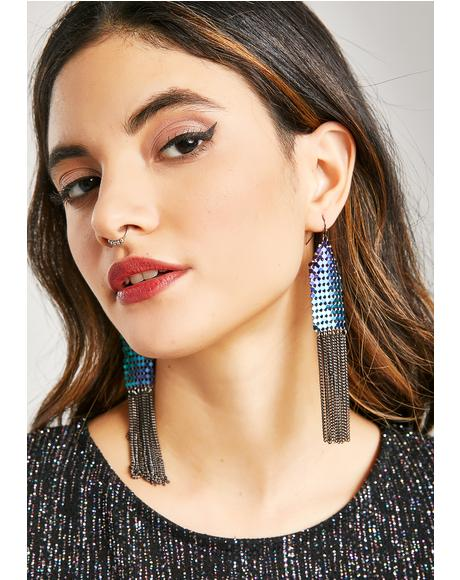 Bold Move Chain Earrings