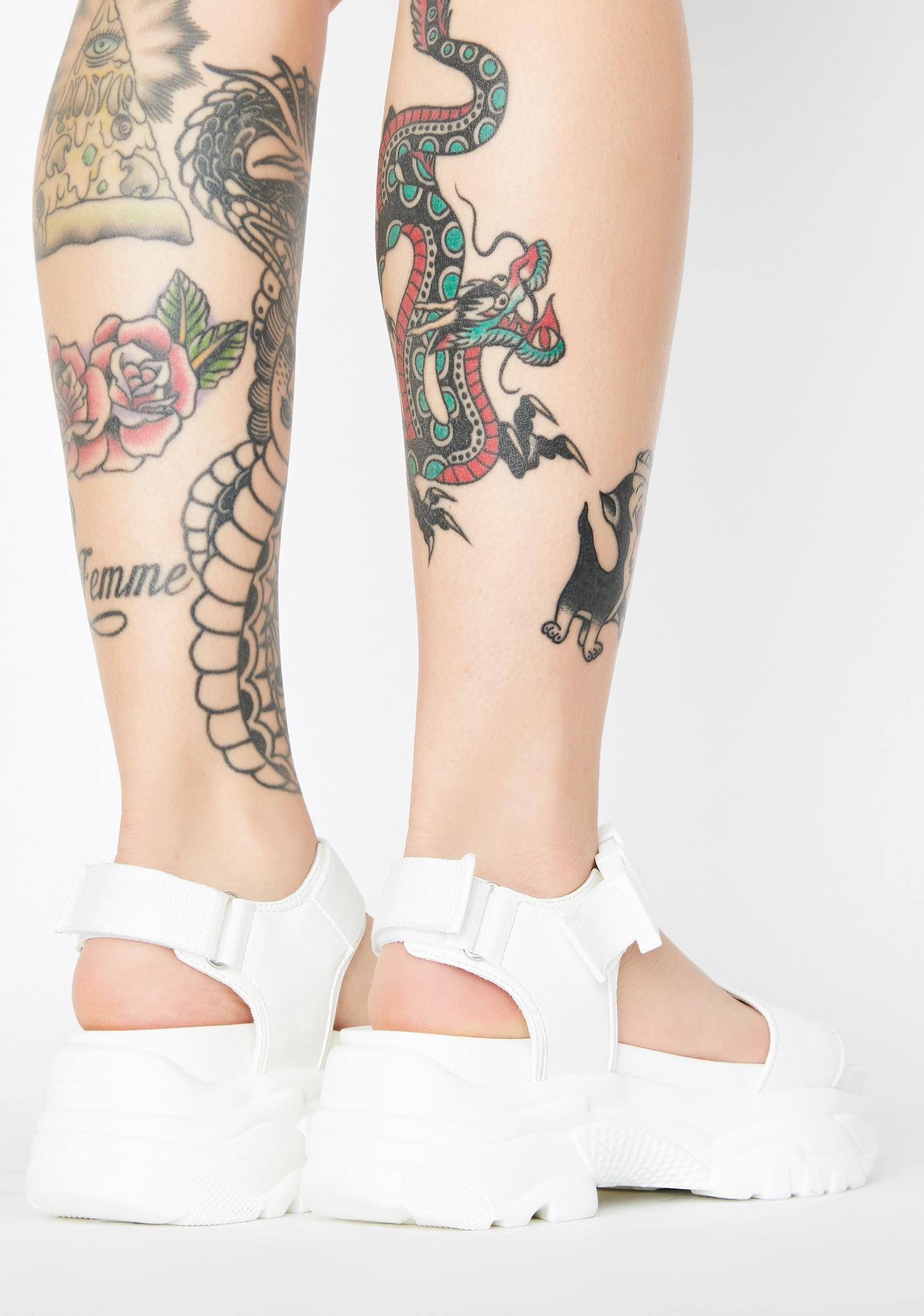 Current Mood Angel Easy Finesse Platform Sandals