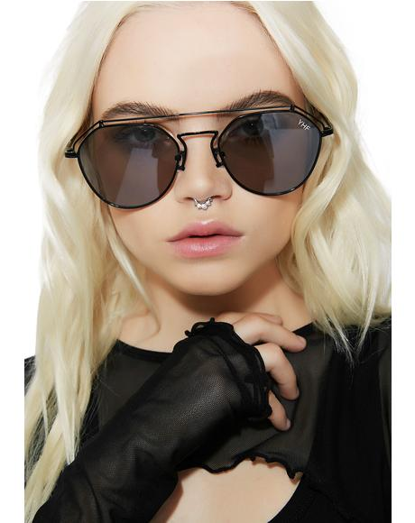 Onyx Stephanie Transparent Sunglasses