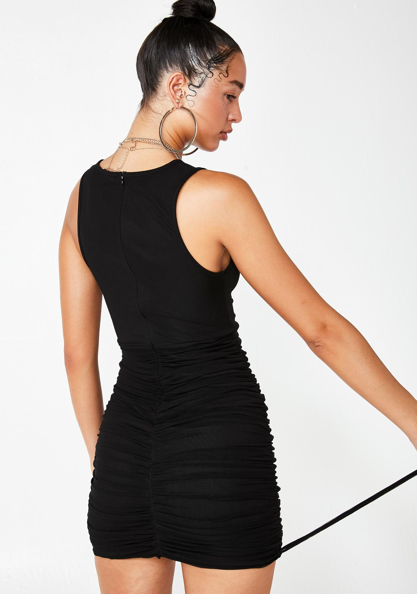 Tiger Mist Theo Ruched Dress