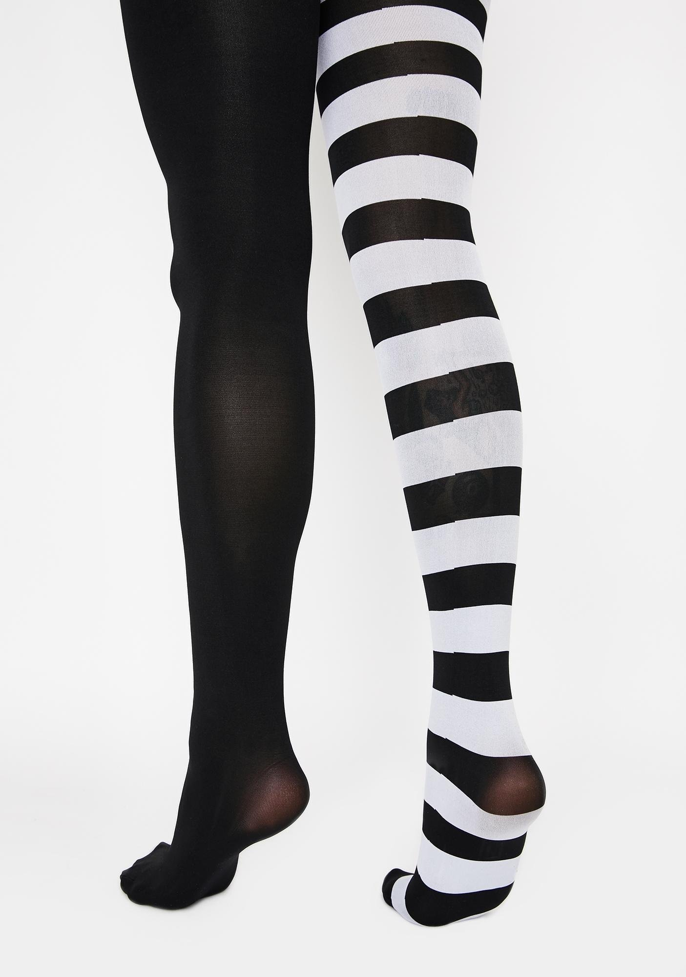 Killstar White Ella Tights