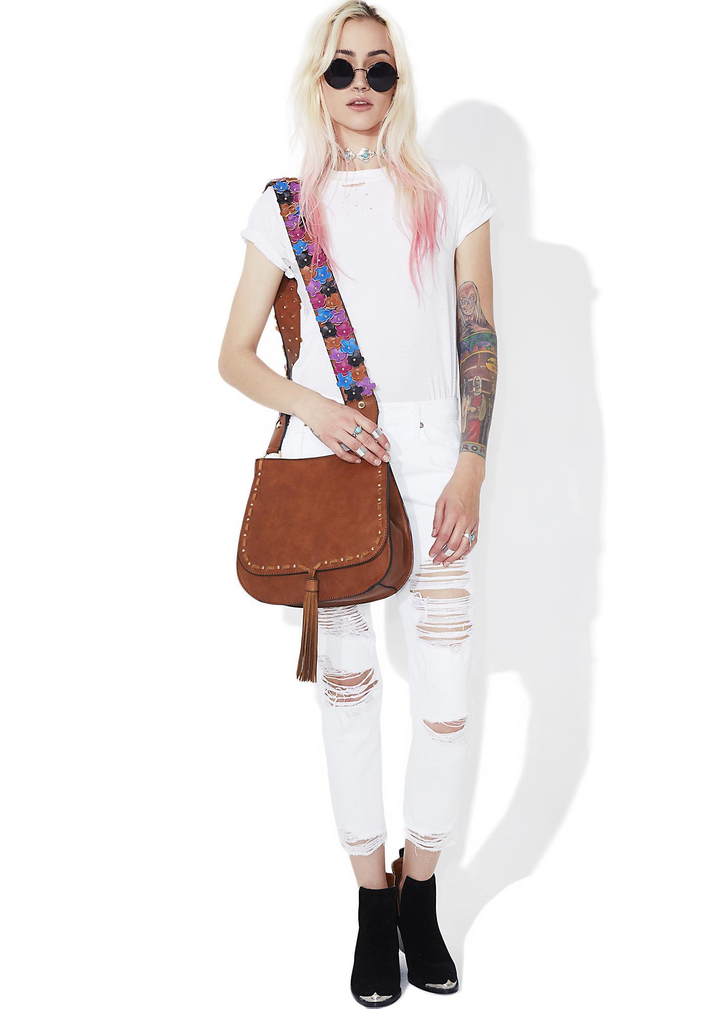 Steve Madden Selena Floral Crossbody Bag | Dolls Kill