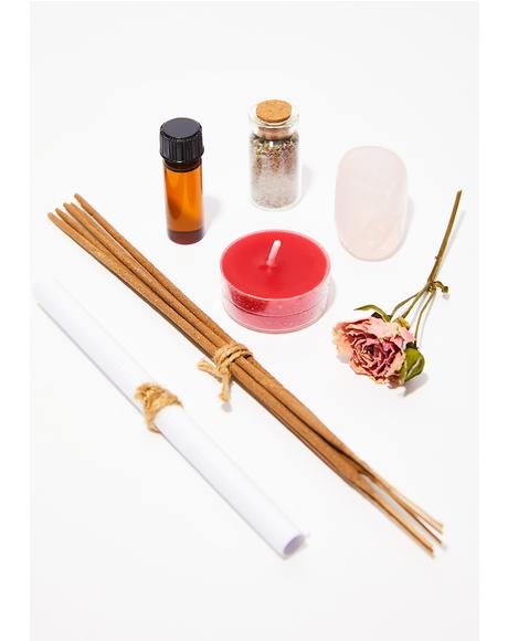 In Lust Incense Making Ritual Kit