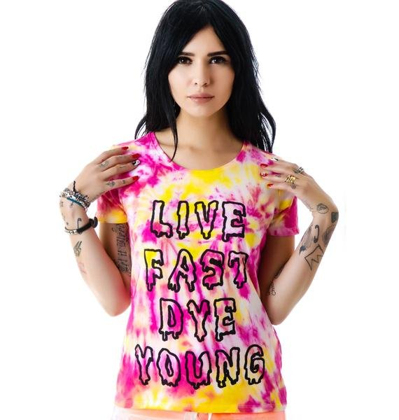 The Ragged Priest The Live Fast Dye Young Tee