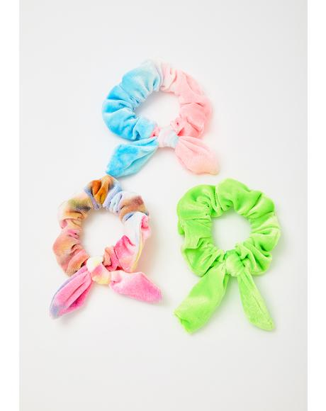 Sweet Dreamz Scrunchies Set