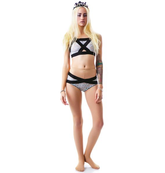 For Love & Lemons X Rated Sporty Hipster Brief