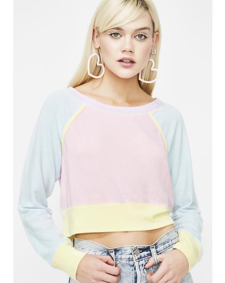 Gelato Skies Fleece Sweatshirt