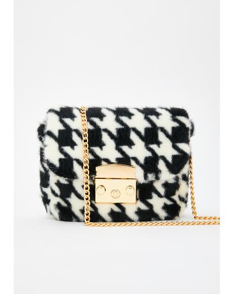 Posh Priss Furry Crossbody