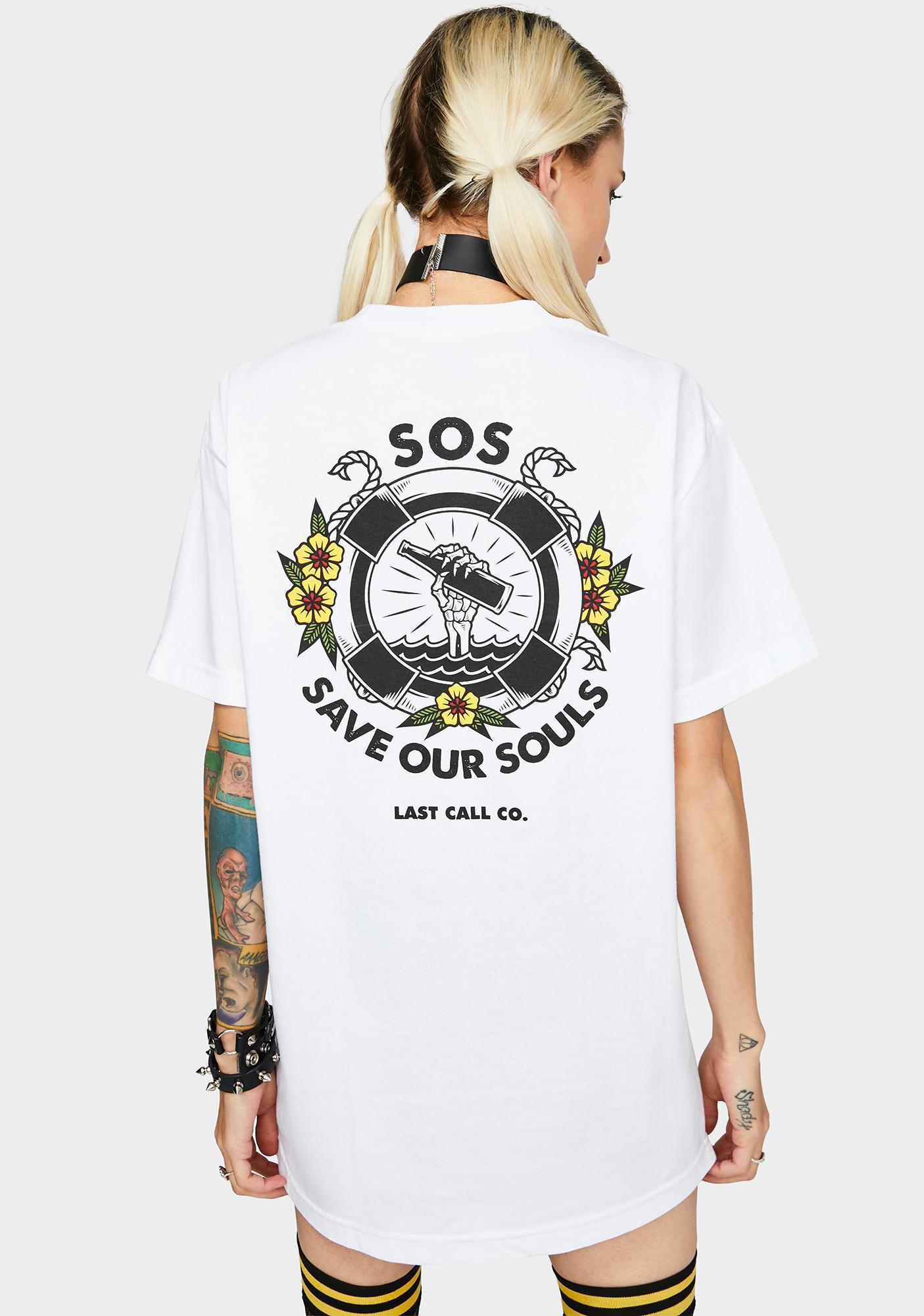 Last Call Co. SOS Graphic Tee