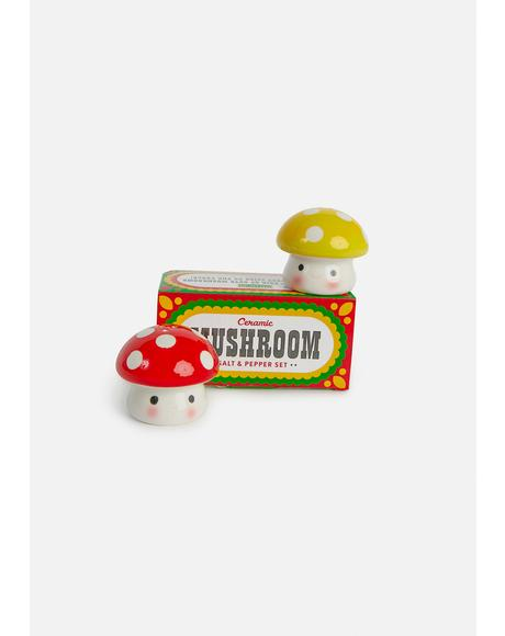 Mushroom Salt And Pepper Set