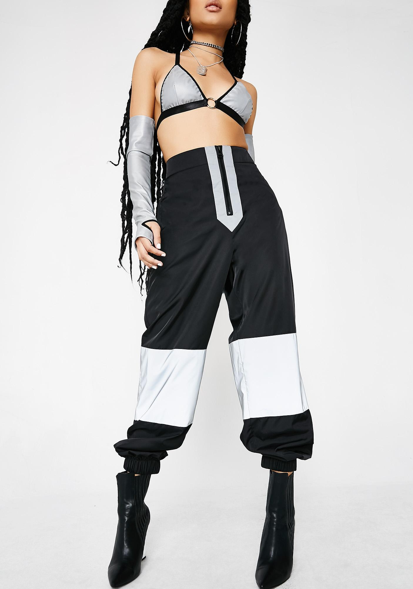 Poster Grl Born To Shine High-Waisted Pants
