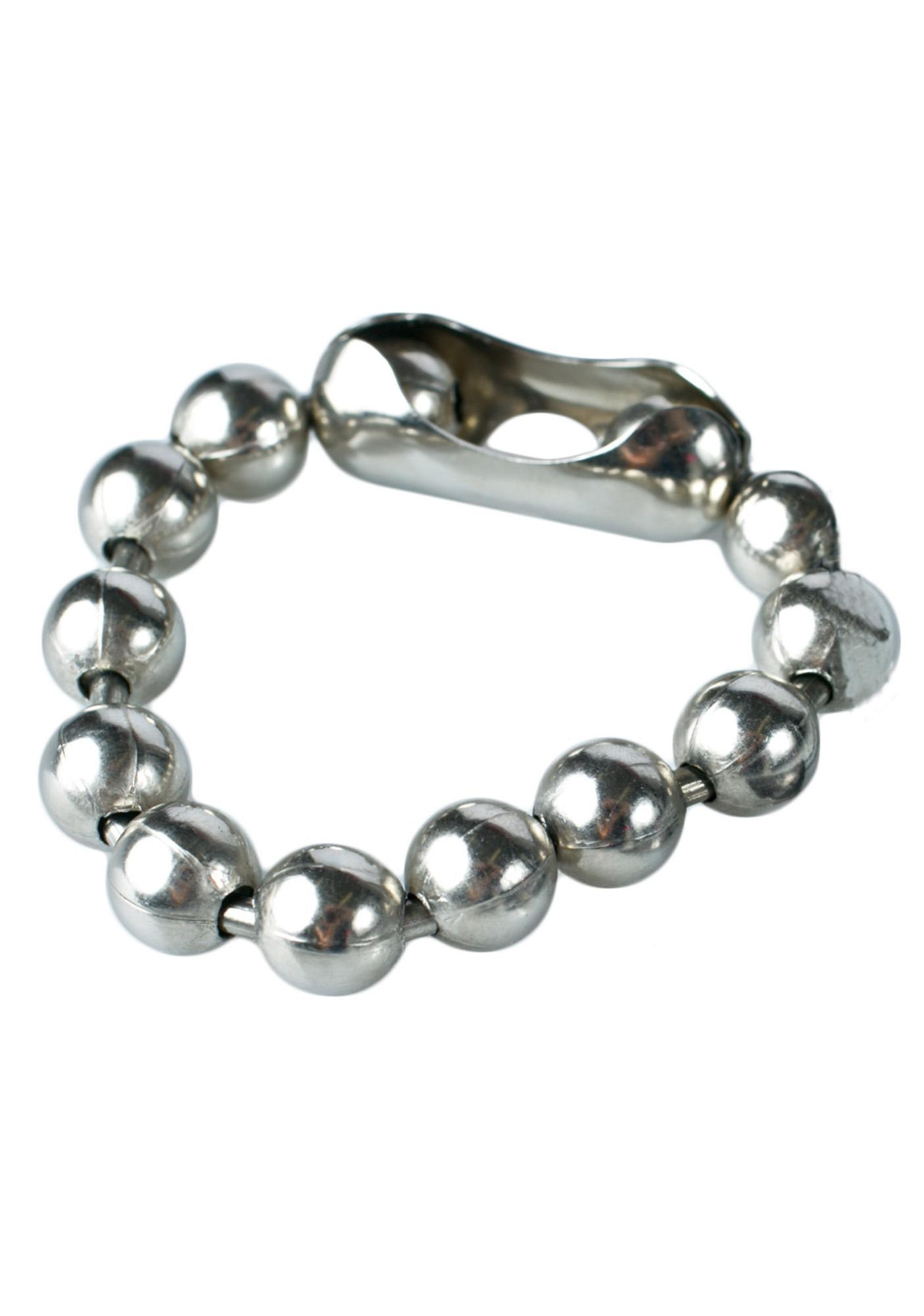 big azz ball 'n chain bracelet | dolls kill