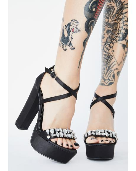 Bossy Badazz Platform Heels