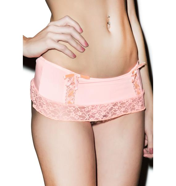 Sweet 'n' Lacey Thong Skirt