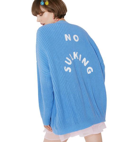Lazy Oaf No Sulking Cardigan