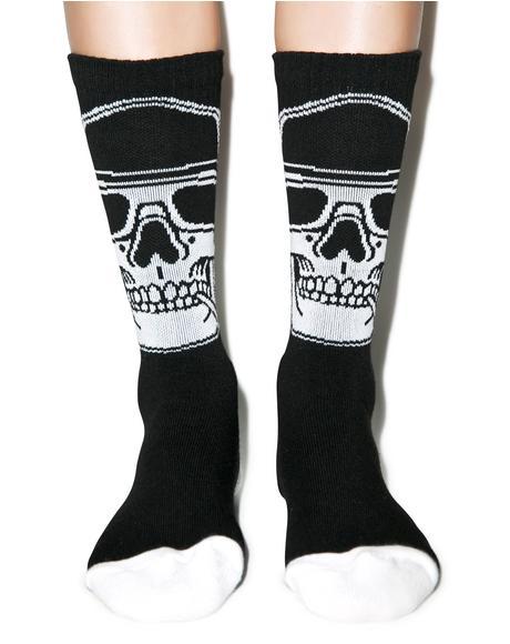 Smoked Loc Socks