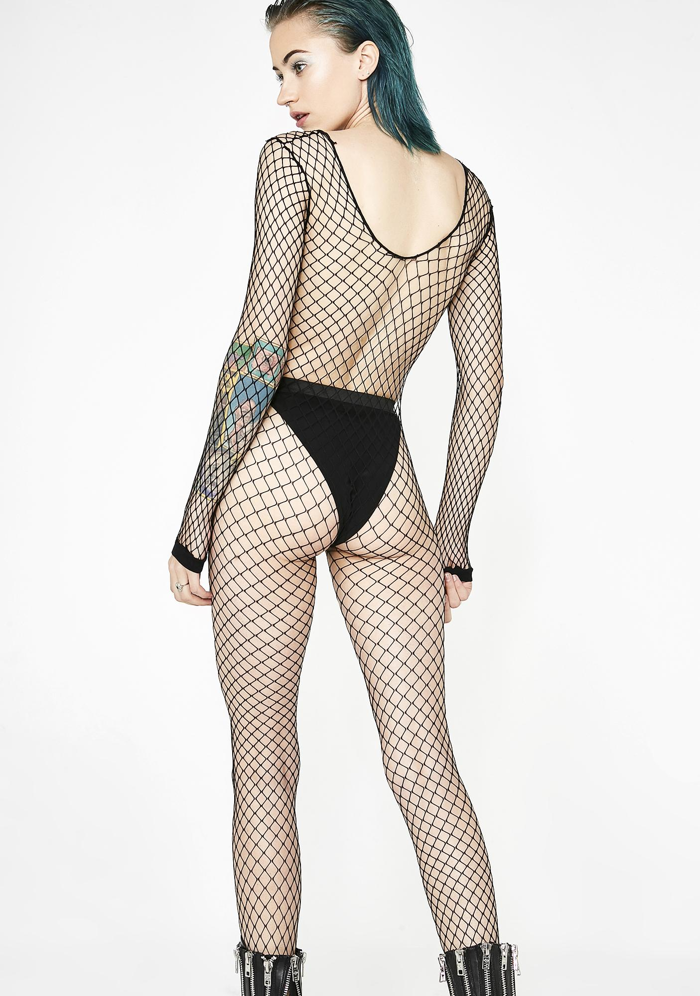 Slipstream Fishnet Body Stocking