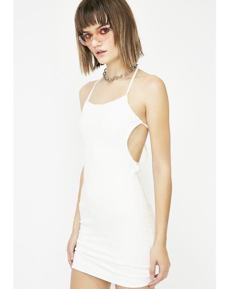 Run The Risk Backless Dress